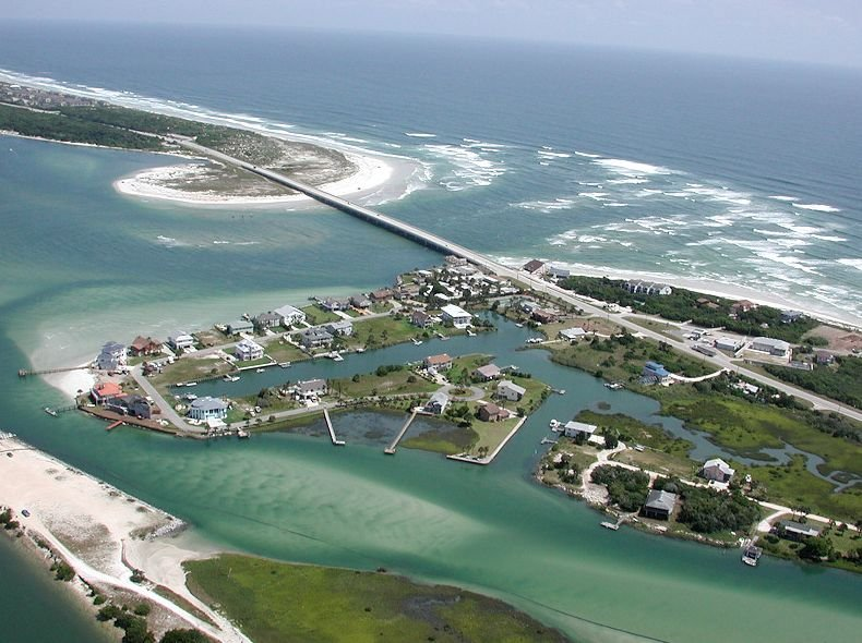 Matanzas inlet beach st augustine adventure for Matanzas inlet fishing
