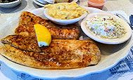 o'steen's broiled flounder