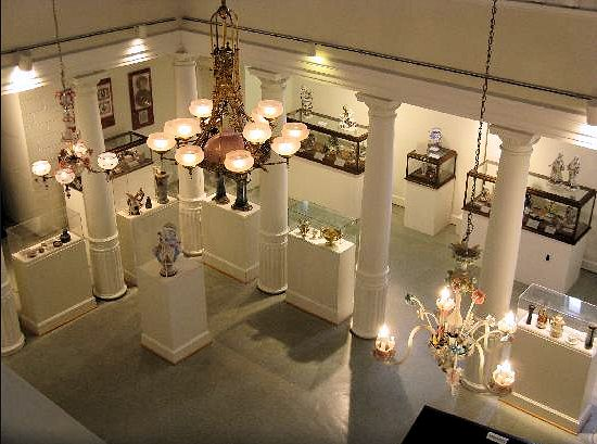 lightner museum display room