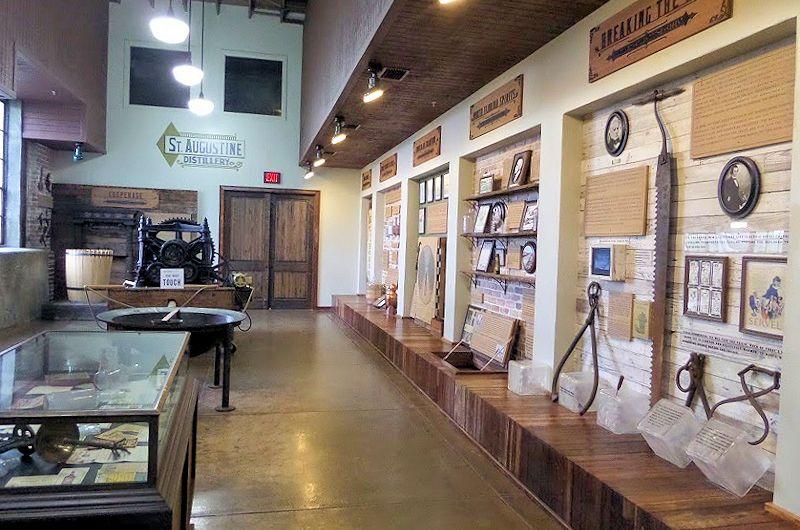 st augustine distillery mini museum
