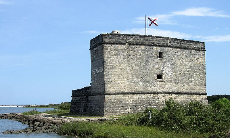 fortress rear view