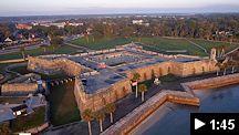 castillo de san marcos aerial video