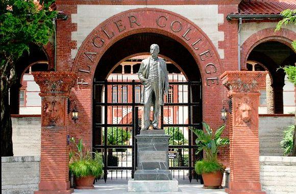 henry flagler statue