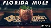 video - st. augustine distillery florida mule cocktail
