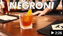 video - st. augustine distillery negroni cocktail