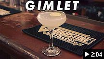 video - st. augustine distillery gimlet cocktail