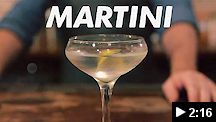 video - st. augustine distillery martini cocktail