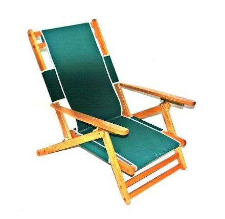 big bill's beach stuff - oak beach chair
