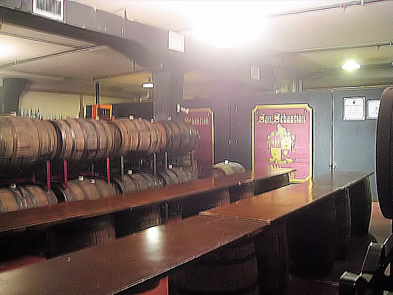 san sebastian tasting table