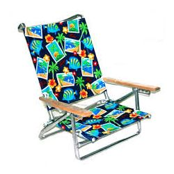 big bills beach stuff - aluminum beach chair