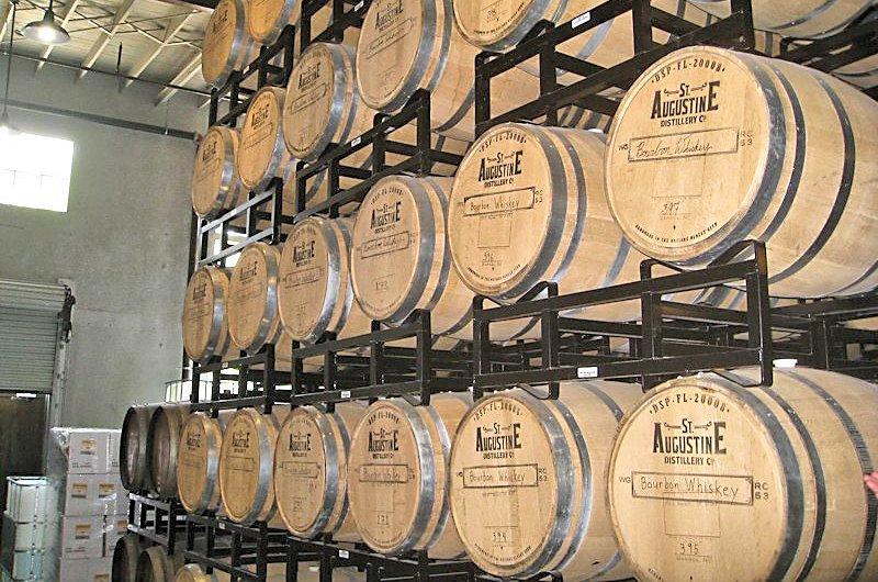 distillery aging bourbon