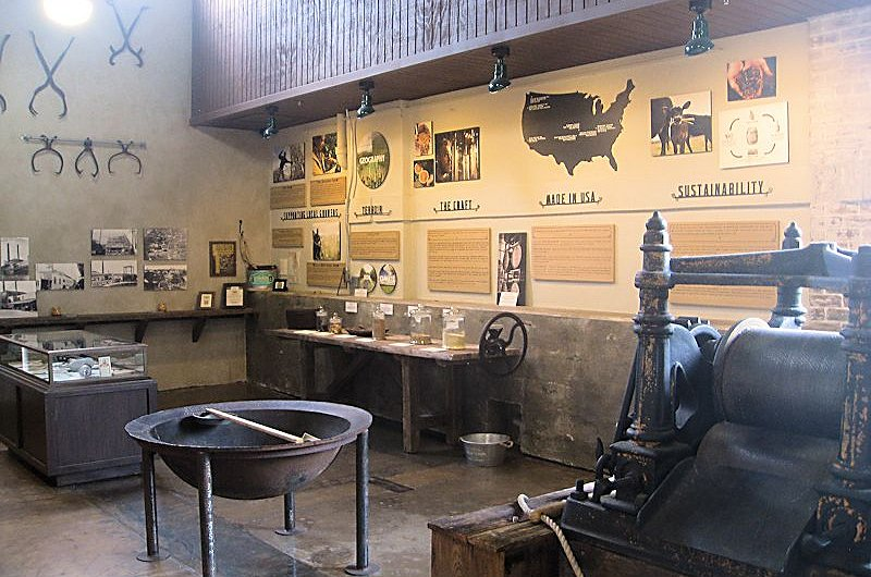 st augustine distillery mini museum alt view
