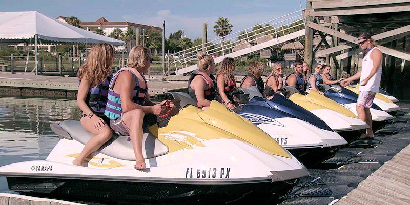 raging water sports waverunner tour group
