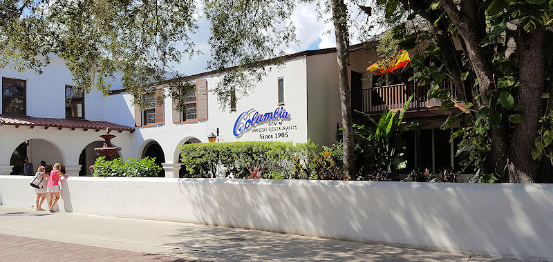 Columbia Restaurant St Augustine Adventure