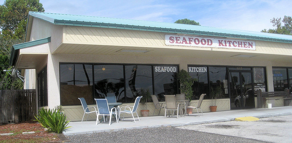 seafood kitchen outside view