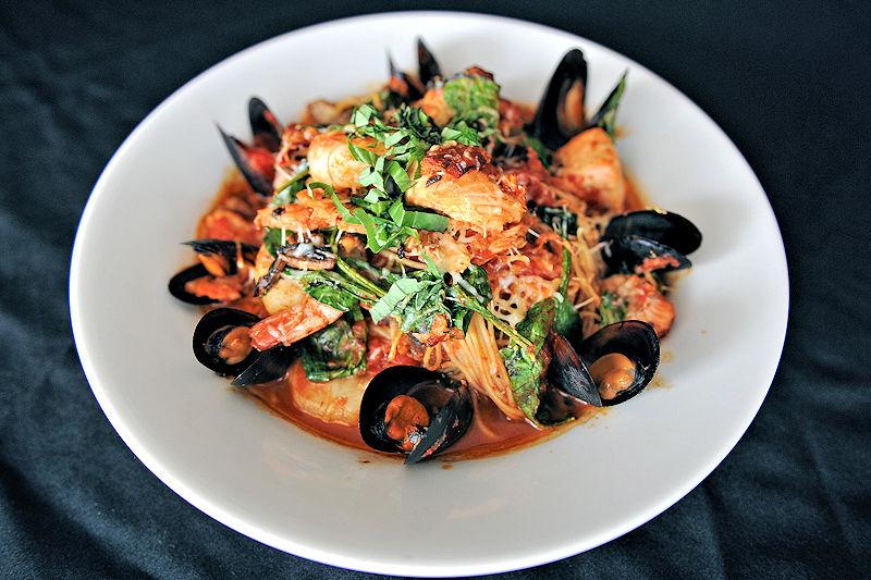 purple olive seafood marinara