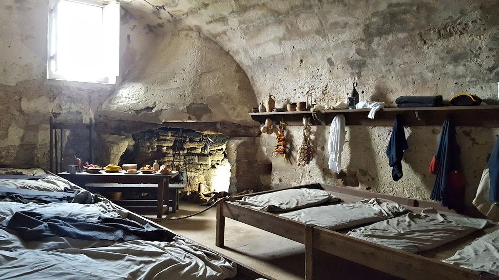 castillo de san marcos soldiers quarters